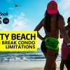 Panama City Beach Spring Break Condo Limitations